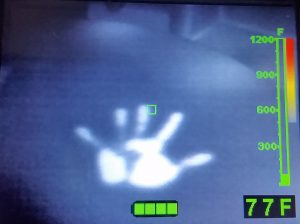 thermal handprint